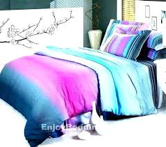 pink purple bedding and distressed top