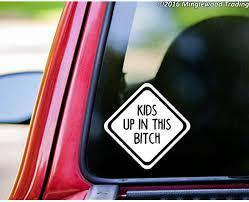 A Good Decals Usa Kids Up In This Bitch 6 X 6 Gf78 Vinyl Decal Sticker Car Window Truck Minivan Amazon Ca Home Kitchen