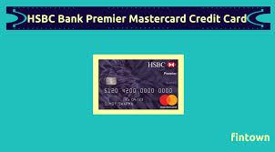 hsbc bank premier mastercard credit