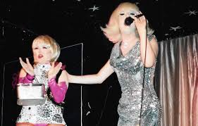 Lady Bunny with Wendy Wild. Even when... - Wendy Wild And The Wild Lower  East Side | Facebook