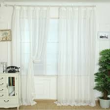 2020 White Elegant Tulle Curtains Door Window Curtain Decoration Drape Sheer Scarf Valances Curtain For Kids Bedroom Firanki Na Okno From Roberte 24 34 Dhgate Com