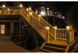 4 1 2 In X 4 1 2 In Solar Post Cap Light For Trex Charcoal Black 3 Led Colors Buy Online For 89 95 At Ultrabrighttech