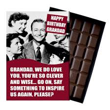grandad boxed chocolate greeting card