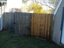 Before After Fence Pressure Washing Pressure Washing Fence Modern Design