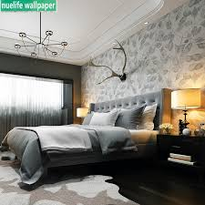 Modern Wallpaper Fashion Green Small Leaves Bedroom Study Living Room Tv Background Kids Room Restaurant Non Woven Wallpaper Buy At The Price Of 42 21 In Aliexpress Com Imall Com
