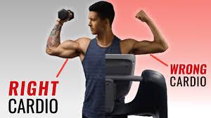 does cardio burn muscle 3 cardio