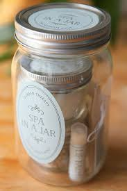 spa in a jar party inspiration