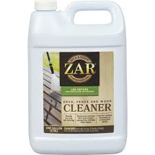 Zar 1 Gal Deck Fence Wood Cleaner Do It Best World S Largest Hardware Store