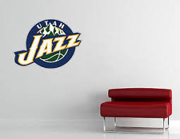 Utah Jazz Nba Wall Decal Art Vinyl Sticker Decor Basketball Extra Large L234 Ebay