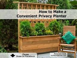Privacy Fence Planter Box Fence Planters Privacy Planter Garden Planter Boxes