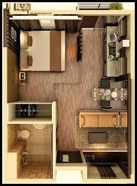 studio apartment floor plans small flat