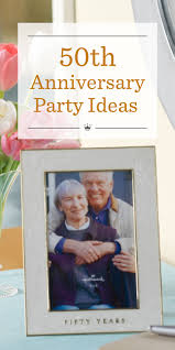 50th anniversary party ideas hallmark
