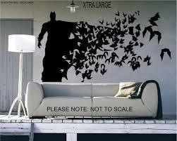 Batman Xtra Large Size Wall Decal Wall Art Sticker Etsy Batman Wall Batman Room Batman Decor