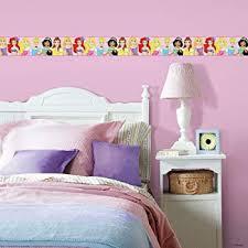 Amazon Com Roommates Disney Princess Peel And Stick Wallpaper Border Removable Kids Room Decor Home Improvement