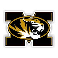 University Of Missouri Tigers D Vinyl Die Cut Decal Stic
