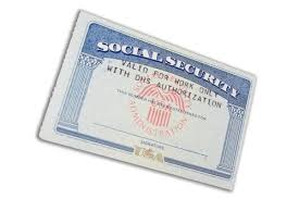 social security card was stolen