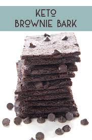 keto brownie bark recipe all day i