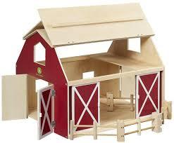 john deere big wooden barn play