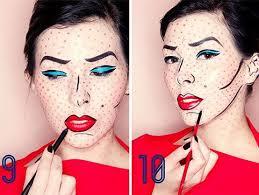 pop art makeup costumes you