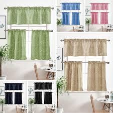 Star Kids Room Window Short Curtain Kitchen Blind Cafe Tier Curtains Panel Walmart Com Walmart Com
