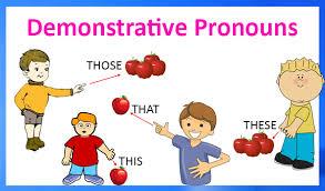 demonstrative ouns definition