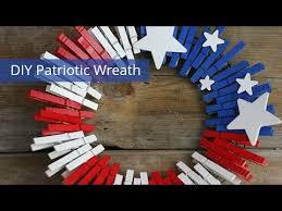 diy patriotic clothespin wreath you