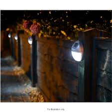Solar Powered Fence Lights 10pk Garden Solar Lights Solar Lights Garden Solar Fence Lights Fence Lighting