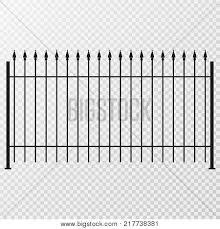 Metal Fence Gate Flat Vector Photo Free Trial Bigstock