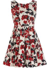 poppy frenzy dress vine fl