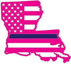 5 Yr Vinyl Louisiana State Flag Sticker Decal