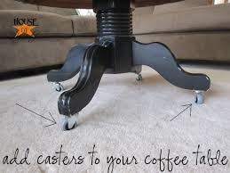 adding casters to furniture an easy