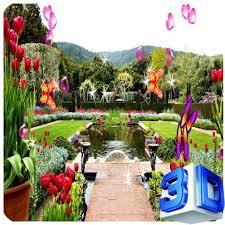 com 3d garden live wallpaper