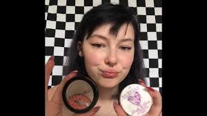 everyday goth gf makeup you