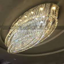 brand elliptical big ceiling lamp