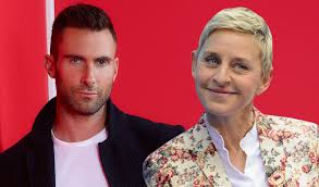 Ellen DeGeneres gives Adam Levine an NBC 'Voice' warning |