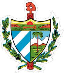 Cuba Shield Travel Decal Car Magnet