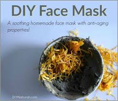 diy face mask an anti aging green clay