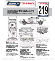Decals An Update Technical Discussions Tirerack Com Champcar Endurance Series