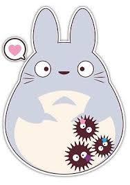 My Neighbor Totoro Studio Ghibli Anime Car Window Decal Sticker 002 Anime Stickery Online