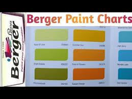latest berger paint chart part 2