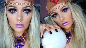 glam fortune teller makeup