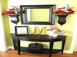 half round entryway table cherbonnel info