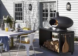 wood burning stoves for the garden