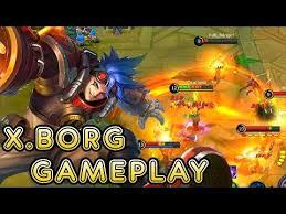 new hero x borg gameplay mobile legends bang bang