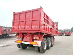 3 Axles Dump Trailer Manufacturers China For Sale Sinotruk
