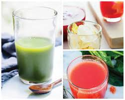 3 juice recipes freshly pressed with
