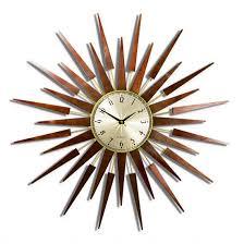 newgate pluto starburst wall clock