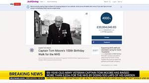 Captain Tom Moore's JustGiving ...