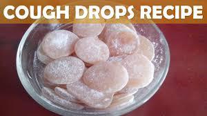 homemade lemon ginger cough drops