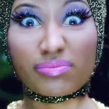 nicki minaj eyes 2yamaha